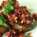 Grilled Stuffed Baby Portobella Mushrooms