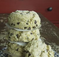 Orange Zest Chocolate Chip Scones w:OB Flour crop