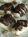 Almond Joy Coconut Macaroon Cookies