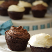 Gluten-free Dairy-free Frosted Brownie Bites