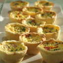 Gluten-free Dairy-free Prosciutto and Sweet Pepper Mini Quiche