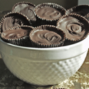 Gluten-free Dairy-free Dark Chocolate Almond Butter Cups