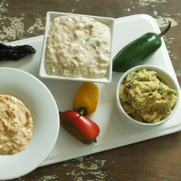 Three Gluten-free, Dairy-free Chile Pepper Dips by DailyForage.com