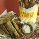 Gluten-free Dairy-free Herbed Roasted French Fries
