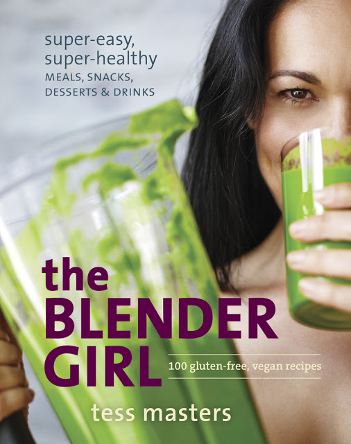the Blender Girl Cookbook Cover, photo courtesy of tbg