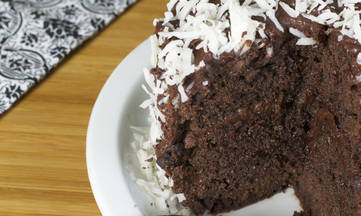Double Chocolate Cake gluten dairy free recipe