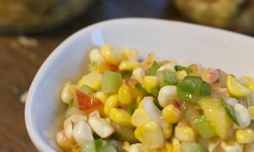 Gluten-free Dairy-free Corn Nectarine Salsa