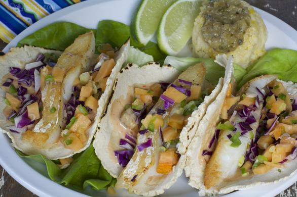Gluten-free Dairy-free Mexican Fish Tacos