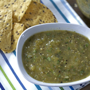 Roasted Green Tomatillo Salsa Verde
