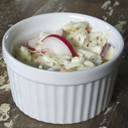 Gluten-free Dairy-free Crisp and Creamy Coleslaw