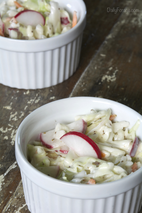 Gluten-free Dairy-free Gluten-free Dairy-free Crisp and Creamy Coleslaw