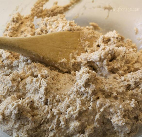 Gluten-free Dairy-free Cinnamon Roll Breakfast Muffins Dough