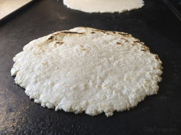 Gluten-free Dairy-free Homemade Corn Tortillas