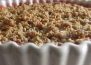 Gluten-free Dairy-free Raspberry Amaretto Peach Cobbler
