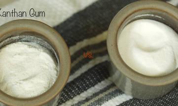 Xanthan Gum vs. Guar Gum
