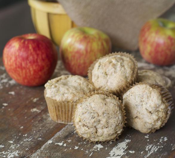 Gluten-free Dairy-free Apple Cinnamon Muffins