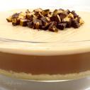 Gluten-free Dairy-free Creamy Peanut Butter Cup Pie