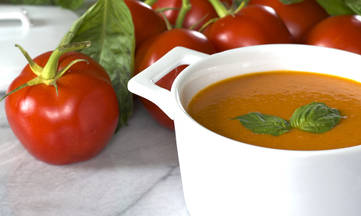 Gluten-free Dairy-free Creamy Homemade Tomato Soup