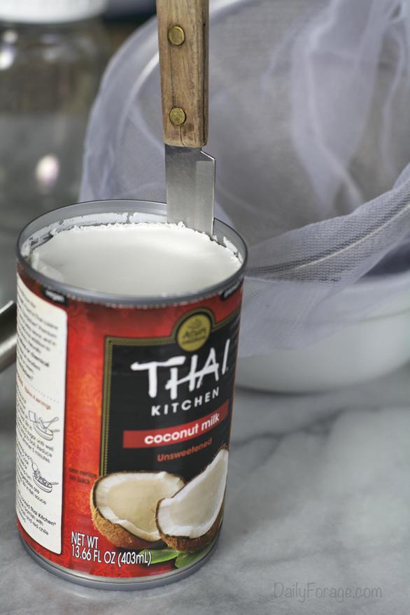 Homemade Dairy-free Coconut Milk Cream Cheese