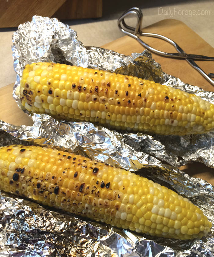 Stovetop Grilled Corn On The Cob Daily Forage Gluten Free