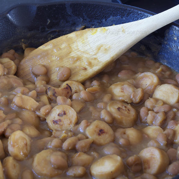 Gluten and Dairy Free Retro Pork 'n Beans
