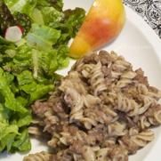 Gluten and Dairy Free Beef Stroganoff