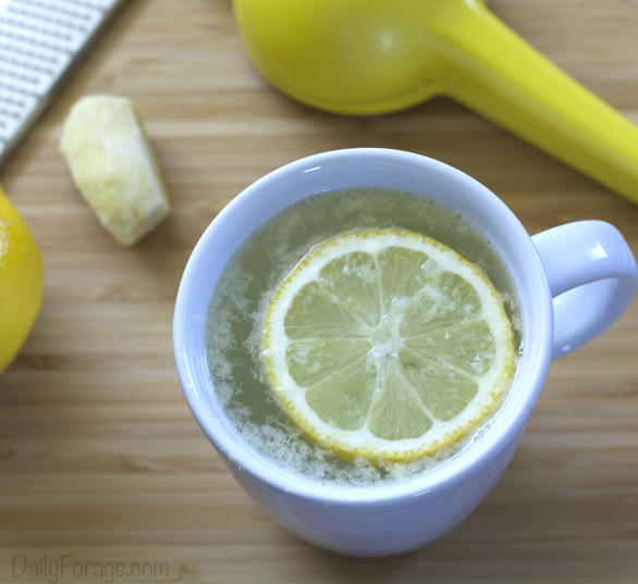 Naturally Gluten-free Lemon Ginger Tummy Tea