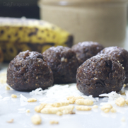 No-Bake Gluten-free, Dairy-free Cherry Chocolate Antioxidant Protein Balls by DailyForage.com