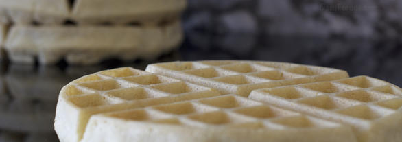 Perfect Single-Flour Gluten and Dairy Free Waffles by DailyForage.com