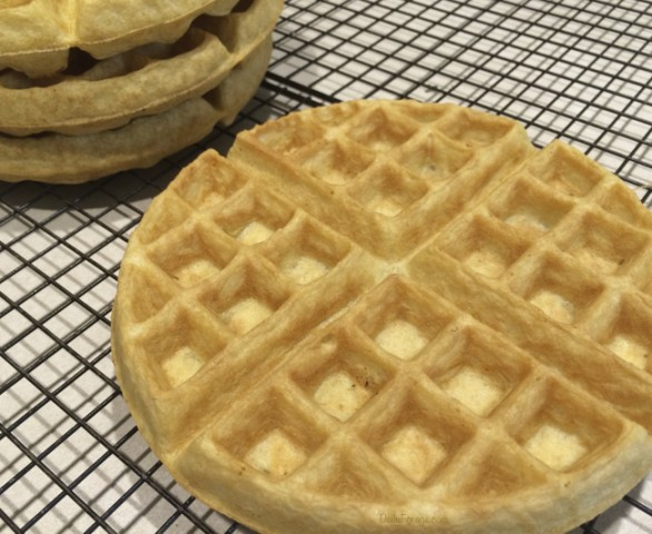 Perfect Single Flour Gluten & Dairy Free Waffles by Daily Forage