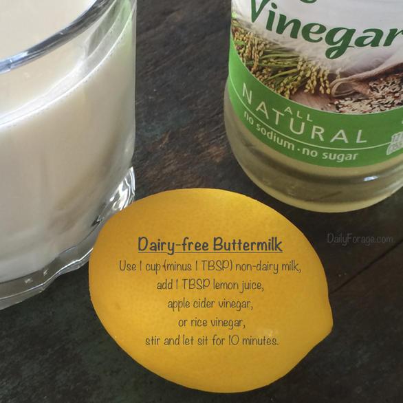 How to Make Dairy-free Buttermilk by DailyForage.com