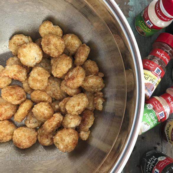 Gluten Dairy Free Super Bowl Crispy Crowns by DailyForage.com