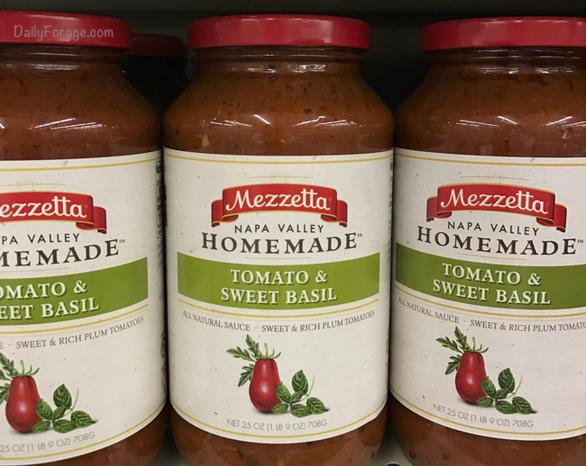 Mezzetta Tomato Sweet Basil Sauce by DailyForage.com