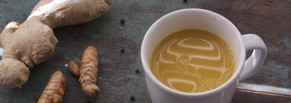 Paleo Golden Milk Turmeric Tea by DailyForage.com