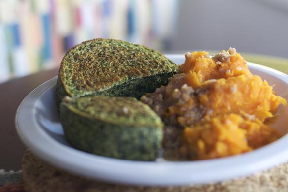 Garden Lites Spinach Bake Lunch by dailyforage.com