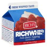Rich's RichWhip Topping