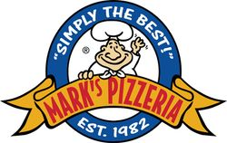 Mark's Pizzeria Logo, photo courtesy of Mark's