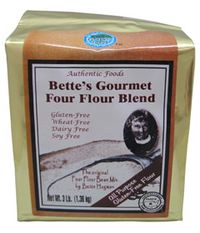 Authentic Foods Bettes 4 flour blend,photo courtesy of Authentic Foods