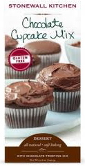 Stonewall Kitchen Gluten Free Chocolate Cupcake Mix, photo courtesy of Stonewall Kitchen