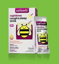 Zarbees Nighttime Cough Sleep Drink, Photo courtesy of Zarbee's