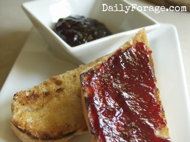 Raspberry Confiture, photo/recipe by Daily Forage