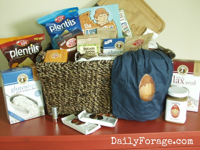 1st Anniversary Giveaway Basket, photo by DailyForage.com