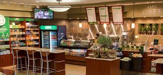 Lifetime Fitness Café, photo courtesy of LTF