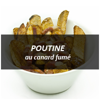 Zero8 Poutine au canard fume, photo courtesy of Zero8
