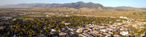 Bozeman, MT, photo courtesy of Visitor's Center