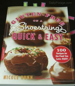 Gluten-Free on a Shoestring Quick & Easy Book Review, Daily Forage Photo