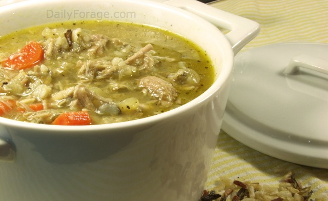 Turkey Wild Rice Soup GFDF