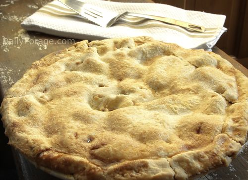 Rustic Apple Peach Pie